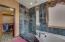 Lead glass shower