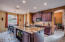 Kitchen with high quality finishes