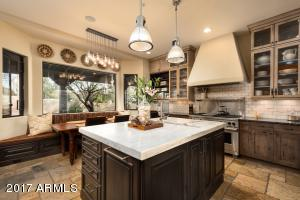 The gourmet kitchen was designed with the chef in mind - high end appliances, soft close cabinetry, functional work space and lots of storage.