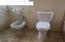 High Rise Toilet and Bidet in Master Bath