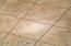 Floor Tile in Kitchen, LR/DR, Family Room, Bathrooms, Hall