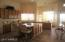 Huge kitchen with island and breakfast nook