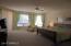 Main floor Master Suite with bay windows