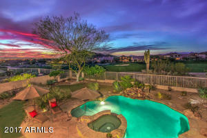 Premium Las Sendas Golf Lot, Elevated with City lights and Mountain Views