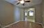 Your Den/Office.sewing room/Exercise room Looking into the welcoming room with the 2 ceiling fans