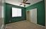 Green easily can get painted just cosmetic, but room shows great.