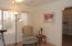 Sitting/exercise room addition off MBR with large walk-in closet