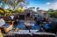 Outdoor lving is such a large part of Arizona entertaining, and this full patio with views of Black Mountain, is bound to be a crowd pleaser. Complete with a fireplace to take off the evening chill, and a BBQ. All Patio furniture is being included by the sellers. A real outdoor showplace!