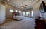 Exceptionally large master retreat