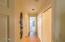 Split floor plan for maximum privacy