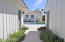 Breezeway from garage to house