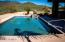 Seller has completely refurbished the pool and spa in the backyard!