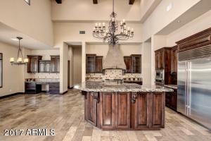 Gourmet Kitchen with huge island and breakfast bar
