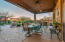 Large Patio with Misters and Sun Shades