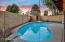 A professionally maintained diving pool makes waves during summer bbq's!