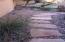 Flagstone Walkway on side of home.