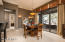 Large sliders in dining area and great rooms offer easy outdoor living.