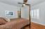 Handscraped Brazillian Cherry Wood Floors, Shutters, Walk-in Closet