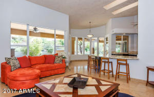 Kitchen opens to the breakfast nook, family room, with lots of large windows looking out to backyard oasis!