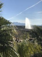 Dining Room View: Four Peaks & the Fountain
