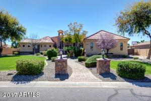 Gorgeous custom home on 1/2 acre lot.