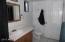 Full bathroom on first level