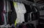 Generous sized closet with shelving organizer