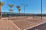 Pickle ball courts!