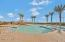 Community pool with swimming lanes!