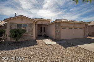 Very nice curb appeal in San Tan Ranch