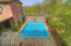 Private pool with water feature