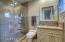Ensuite bath in the junior owner suite