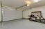 Two car garage with epoxy floors!