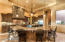 Gourmet kitchen; built in GE Monogram appliances including 2 dishwashers