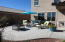 Extended patio for all your patio furniture and entertaining