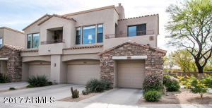 Quiet end-unit within the exclusive Cachet at Grayhawk Community. 1 car garage & guest parking nearby