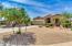 Large Front Yard, w/desert landscaping.