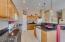 Large pantry, granite countertops