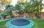 In-ground Trampoline & Lighted Playhouse