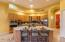 Belly up to the huge kitchen island!