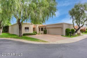 Welcome 7220 East Buena Terra Way in the gated enclave of La Jolla Blanca