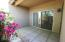 Covered Patio with access from Kitchen or Master bedroom.