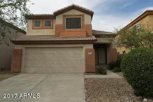 Nice Tatum Ranch home with 1674 sqft, 3 bedrooms and 2 1/2 bathrooms, living room and family room, master bedroom has walk-in closet, and outside viewing deck. Backyard has pool and grass play area.