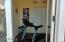 Exercise room at back of house