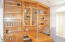 den or office built-in desk and cabinets