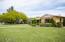 Huge grassy yard
