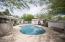 Sparkling salt-water pool