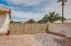 RV gate / RV parking - (this area is an easement)