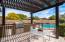 7279 E WHISPERING WIND custom pergola and BBQ island