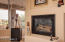 Gas Fireplace in Living Room
